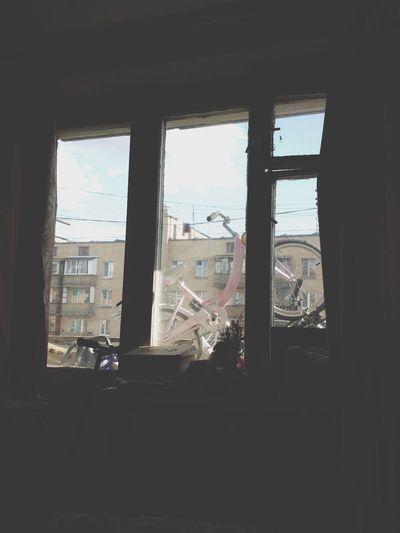 Знаменская 53 окно