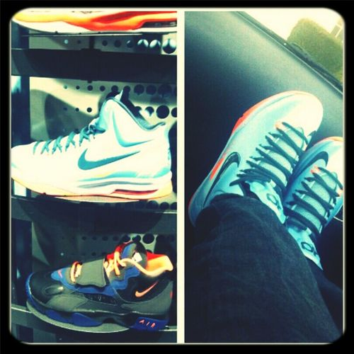 Spoiled Rotten Sneaker Head Kevin Durant Had To Copped Em