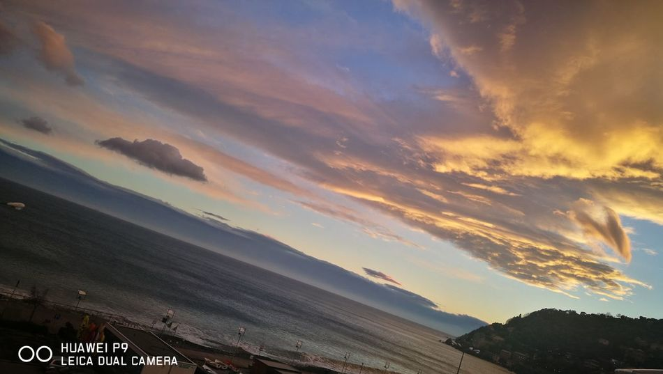 the sky over me.... Sky Sea And Sky Genova Igersgenova Voltri Clouds And Sky Cloudy March