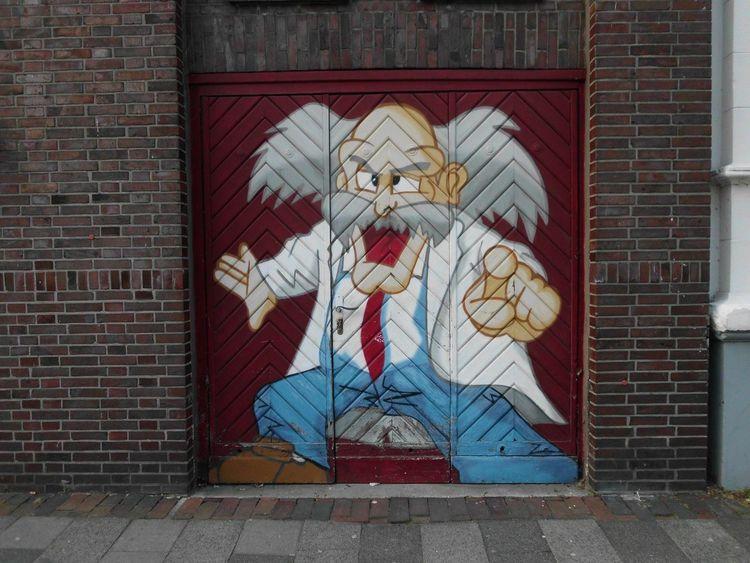 Germany Wilhelmshaven North Sea street art against vandalism Taking Photos Architecture Bogota.