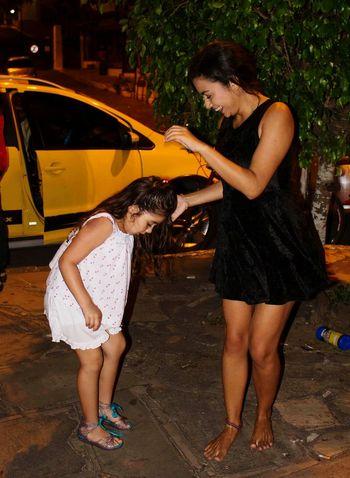 Night Family Portrait Fun Happiness Vacations Brasil Buzios Primas Danzando Pagode Samba Memories