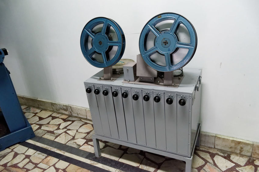 Cinema Cinema Day Indoors  Machine Movie Theater No People Old Cinema Old Machines