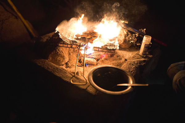 Cooking Braai Burning Camp Cooking Close-up Flame Food Food And Drink Freshness Heat - Temperature Indoors  Night No People Overlanding Preparation  Vanlife