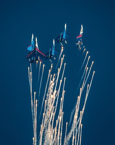 Russia warrior Airshow Flying