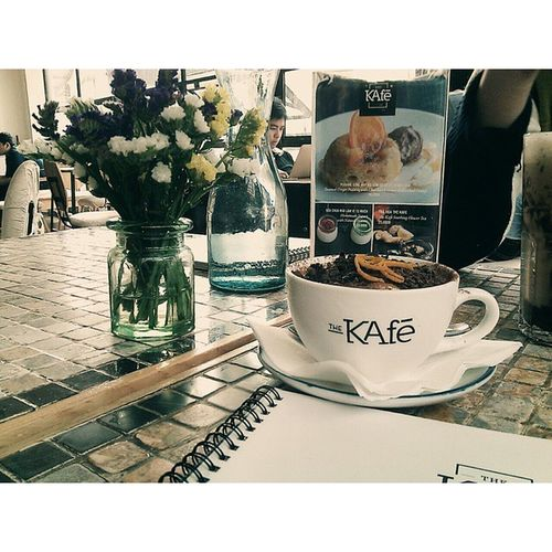 Tiramisu by The Kafe~ 👍❤👌 Niceview Thekafe Delicious Great Hanoifood Coffee Time Thebest Goodday 💋