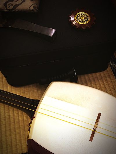 Japan Instruments Shamisen Concert IPhoneography