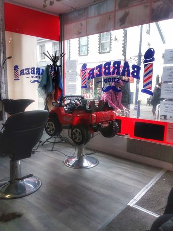 barber shop Shop Indoors  Bright Machine Coffee Time Indoors  No People Day