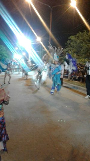 Carnaval de Corrientes. Argentina Real People Full Length One Person Illuminated Built Structure Building Exterior Outdoors Tree Architecture People Night Adults Only Adult Bellas Artes Literatura Architecture At A Lecture In Vino Veritas Alebovino Libros Y Autores Alejandro Maciel. Travel Ciudades Y Gente Adult Nature