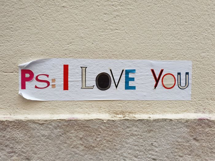 Love Cute Romantic Streetphotography Art Street Art Communication Mail Text Close-up Written Handwriting  Love Letter Graffiti I Love You Information