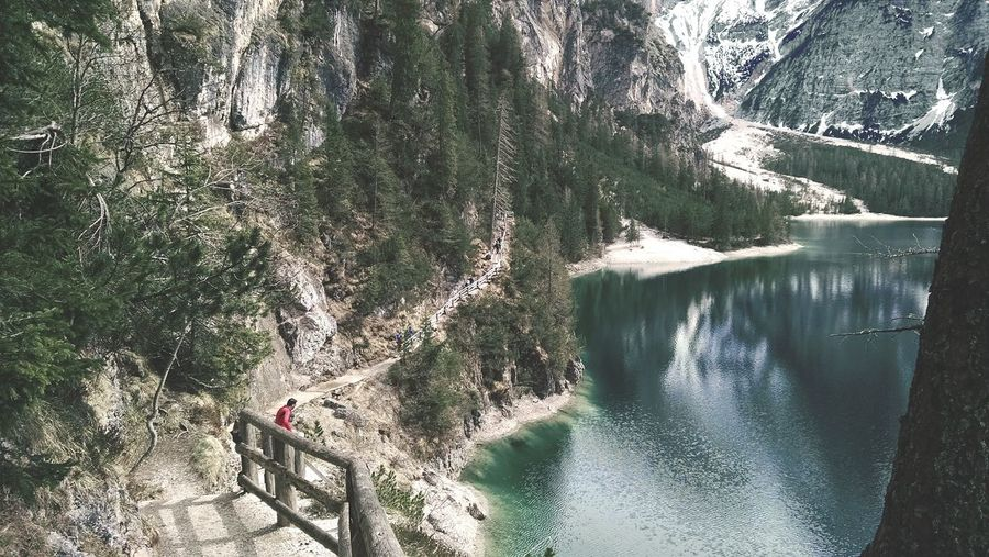 Panoramic path. Path Dolomites, Italy Lake View Mountain What I Value Capture The Moment Protecting Where We Play Live To Learn Seeing The Sights Landscapes With WhiteWall EyeEm x WhiteWall: Landscapes Original Experiences Feel The Journey The KIOMI Collection
