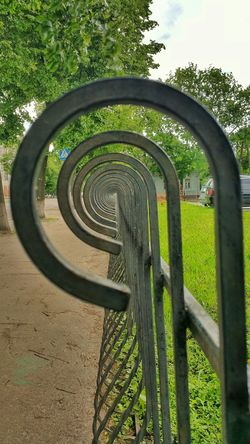 Perspectives - fences - wrought iron Check This Out Urban Geometry Sumy Ukraine Perspectives суми Україна