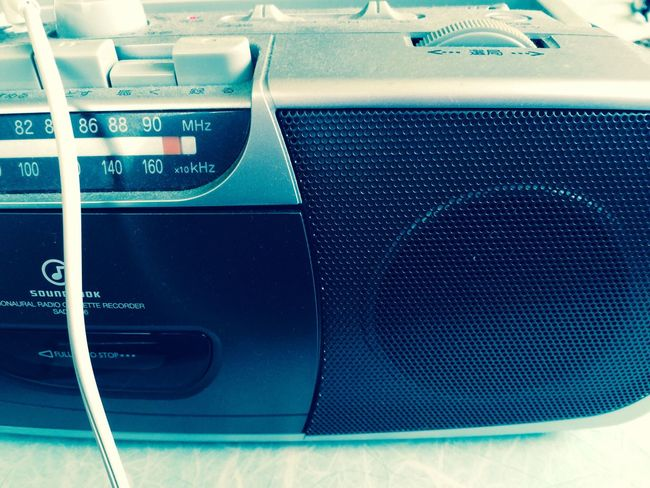 ラジオカセット
