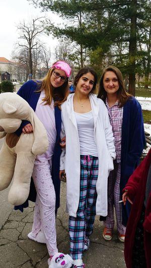 Pijamas School Maskenball Teddybear