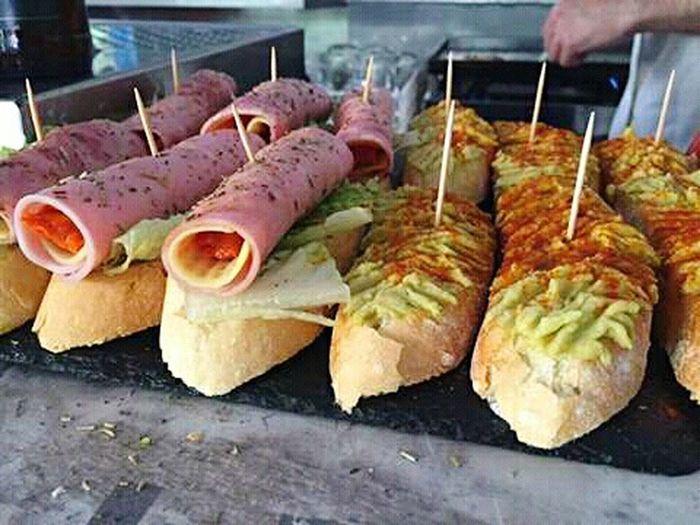 Eating Eat Comidas Comida(: Restaurant Scene Restaurant Food Restaurant Decor Restaurant Restaurante Restaurants Colors Bar Tapas Montaditos Montadito Food