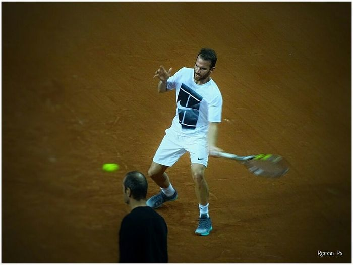Coupedavis Franceserbie Morgan Mannarino Tennis Competition Competitive Sport Sport
