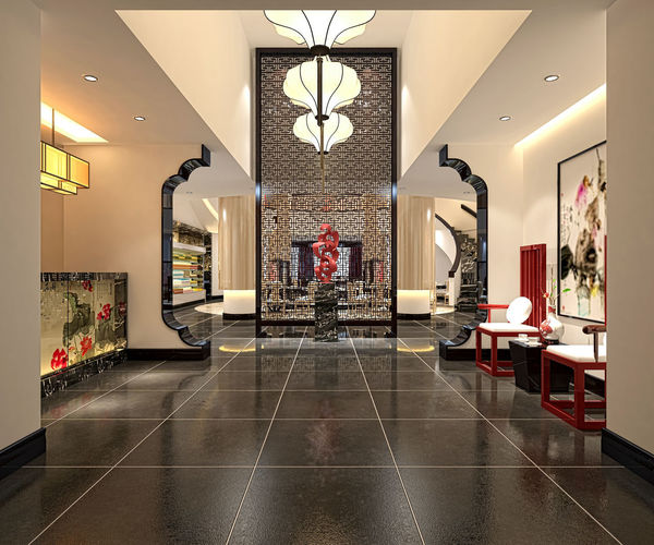 3d render of luxury hotel interior Architecture Decor Entrance Luxury Hotel Architecture Ceramic Chandelier Day Decoration Floor Gym Home Showcase Interior Hotel Illuminated Indoors  Indoors  Interior Lighting Equipment Lobby Lobby Hotel Luxury Marble No People Sofa Tiles
