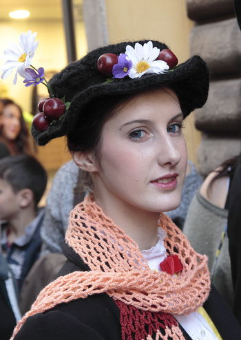 Just a spoonful of sugar ........ Beautiful People Beauty Close-up Comics & Games Cosplayer Day Lifestyles Make-up Mary Poppins One Person Only Women Outdoors People Portrait Smiling Women Young Adult
