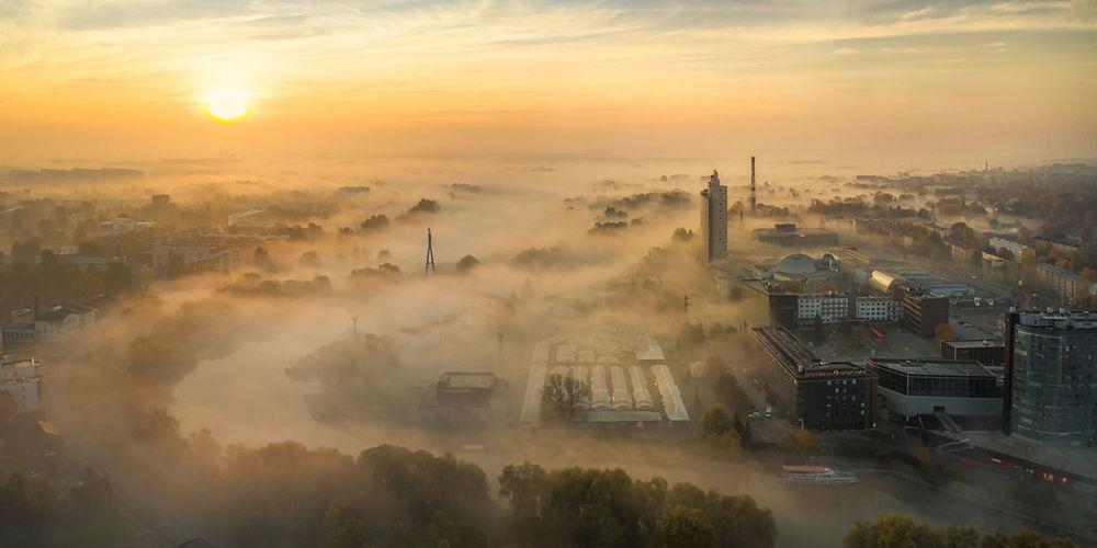 Tartu, sunrise,