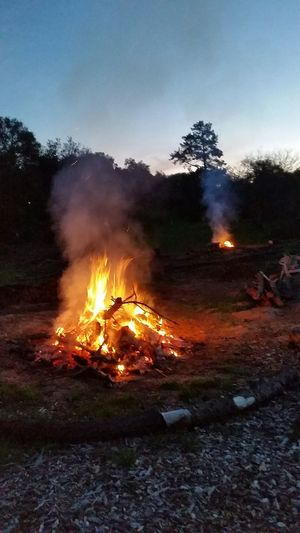 Learn & Shoot: After Dark Longdayisover Check This Out Capture The Moment Springcleaning Outdoor Photography Burning Wood Burningflame Fire And Flames Burn Baby Burn
