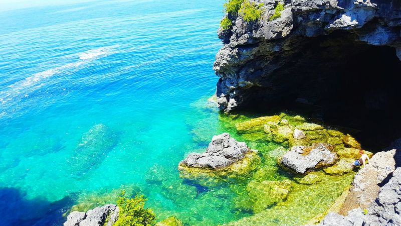 Best EyeEm Shot Check This Out Water Rock And Tree Peninsule Bruce Wow That's So Cool !! Watercolor Colorful ThatsHot