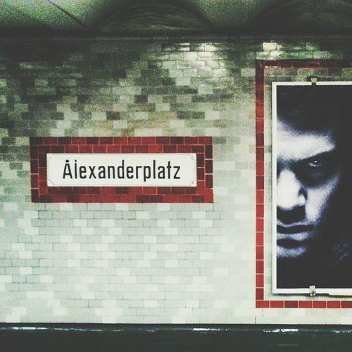 Hello World Gutenmorgen First Eyeem Photo Love Photography Traveling Capital City Deutschland Berlin Underground Station Alexanderplatz Red White And Black Photooftheday Pic Artphoto