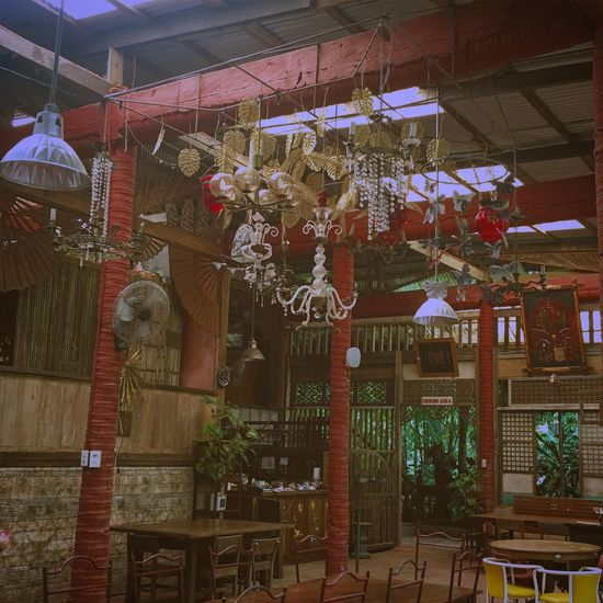Architecture Upcycle Restaurant Indoors  Low Angle View No People Day EyeEm Best Shots Art San Pablo Laguna Philippines
