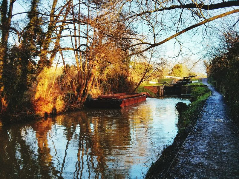 Canal Waterway Canals Stroud