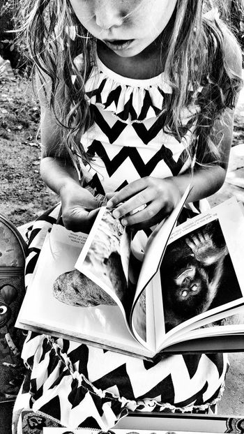 Black And White Child Reading Black & White Black And White Photography Back To School Knowledge Is Power Inspire Knowledge Knowledge Home Is Where The Art Is Monkey Potato Books Book Children's Book Learning Learning Brain Food Chevron Pattern Childhood Memories Child Children Photography Kids_of_our_world Girl Reading Girl Reading A Book Bookworm