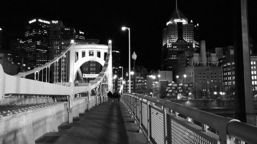 Downtown Pittsburgh, PA Blackandwhite Bridges Pittsburgh Downtown Pittsburgh