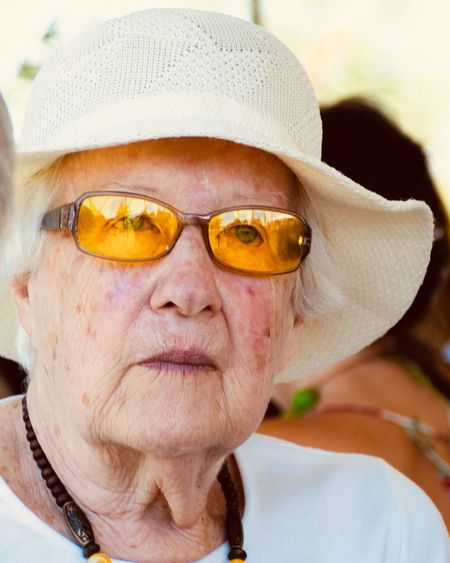 Woman in yellow Good Looking Hat Woman With Hat Woman Hat Elegant Elegant Woman Grandmother Grandma Old Woman White Woman Yellow Glasses Yellow EyeEm Selects Senior Adult Portrait Glasses Senior Women One Person Close-up Human Face Wrinkled International Women's Day 2019