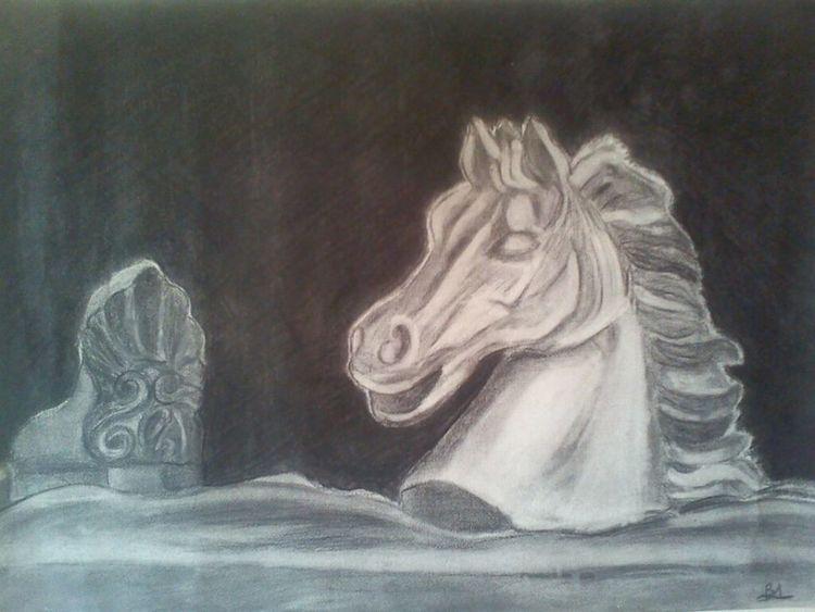 Black And White Galloping Dreams Headman Hope Horse Mane Rider Running White Horse Wind