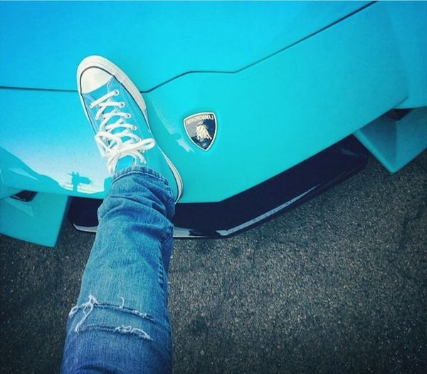 Shoes and car.... Hah
