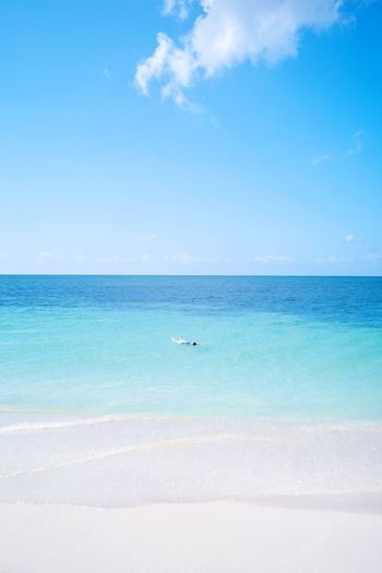 Ancon Beach Cuba Sea Horizon Over Water Water Beach Beauty In Nature Nature Scenics Tranquil Scene Sky Outdoors Day Blue Sand Tranquility Adventures In The City The Great Outdoors - 2018 EyeEm Awards