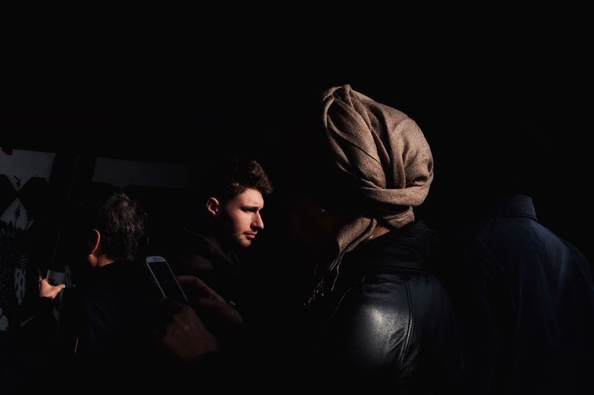 Black Background Real People People Streetfashion Color Photography Streetphotographer Colors Streetphoto Street Life Day Lifestyles Rear View Women Men