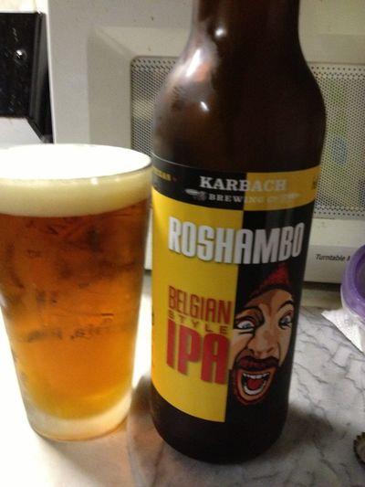 Karbach Roshambo Belgian IPA