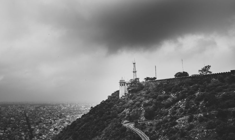 Watch Tower Ansel Adams Inspired India Nikon Sigma Art SigmaLenses Architecture Black And White Blackandwhite D750 Day Land Landscape Landscape_photography Lighthouse No People Outdoors Sea Sky Tower