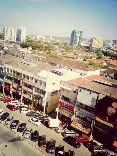 Uptown Damansara Cityscapes Urban Geometry