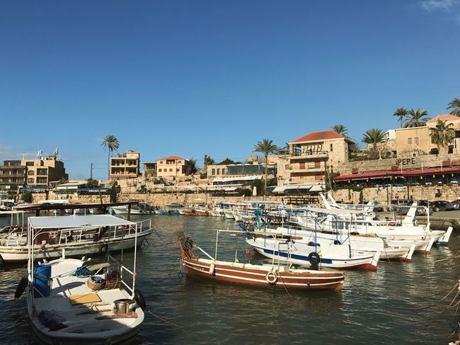 Where the heart is. Port Harbor Boats Architecture Mediterranean  Byblos Lebanon Hometown Breathing Space