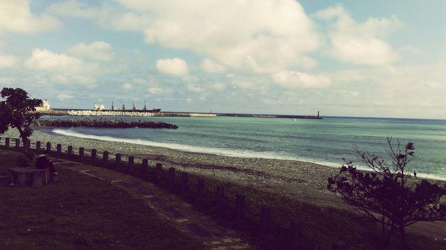 一人的海岸 等待妳歸來的那一天