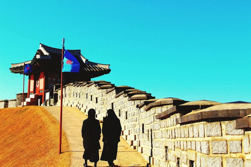 South Korea Snap Photography Suwon Hwaseong Fortress Suwon, Korea