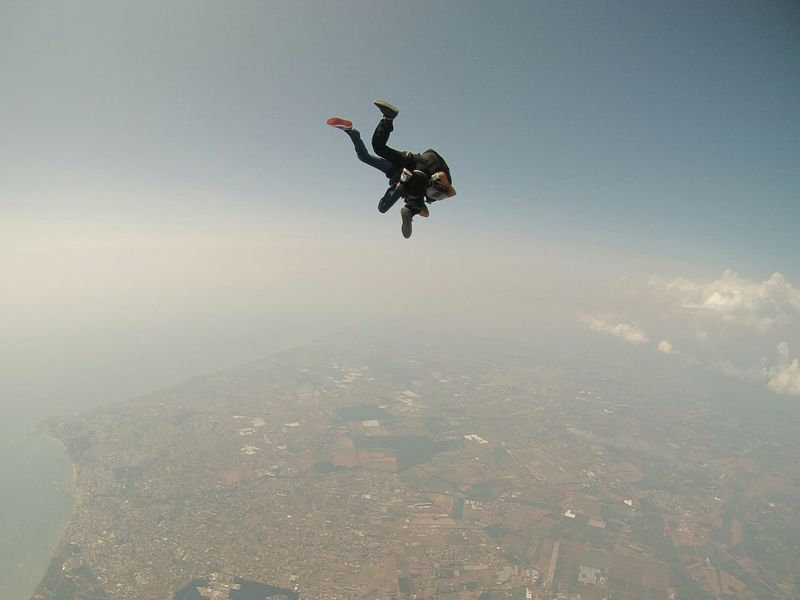 Capture The Moment Sport Sky Landscape Italia Italy Sky And Clouds Gopro GoPro Hero3+ Skydiving Paracadutismo