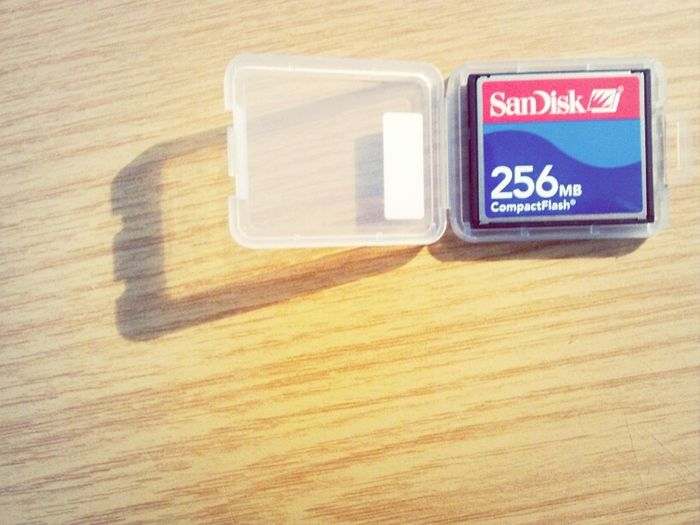my very first Sandisk from around a decade ago.