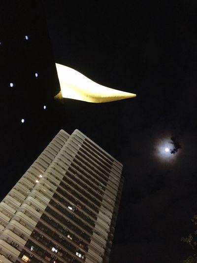 Tokyo Night Photography Twilight Sky Light And Shadow Moon Light Moonnright EyeEm Nature Lover Hello World