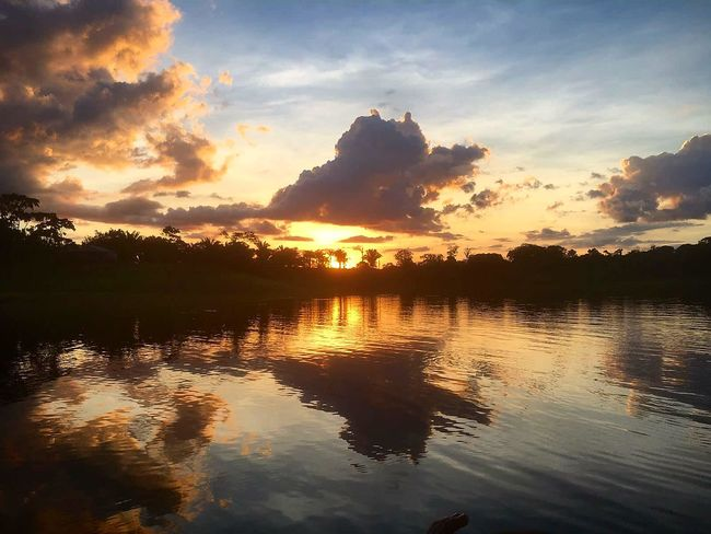 Nofilter Brasil Amazonas Reflections Water Sunset Christmasday Nature Travel Marlytravel Amazing View