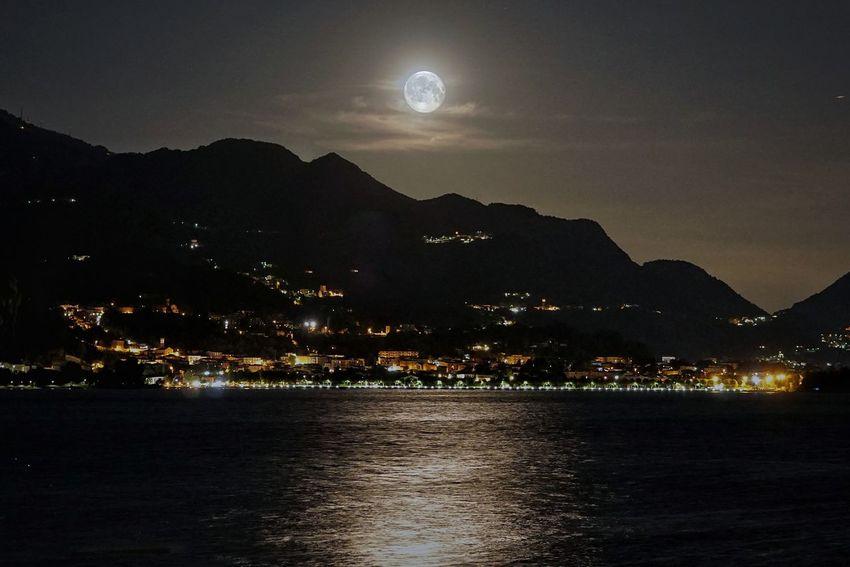 full moon tonight.. Astronomy Mountain Moon Illuminated Star - Space Water Lake Moonlight Beach Full Moon Space And Astronomy Planetary Moon Moon Surface