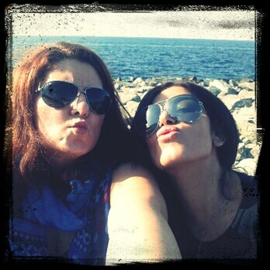 Enjoying Life Best Friends.? No.! Sisters <3 Best Friends For A Reason ❤ Crazy Friends @rimarabbath
