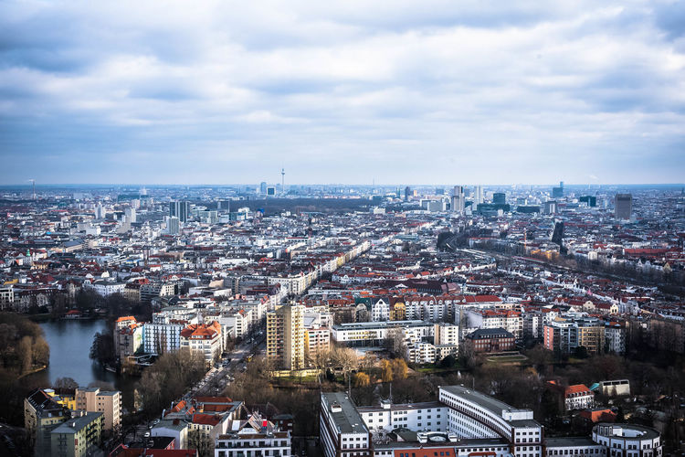 from the west to the east - Berlin Cityscape 8ung Berlin Berlin Berlin Mitte Berlin Photography Charlottenburg  City Cityscape EyeEm Best Shots From Above  Nikon Open Edit Sky And Clouds Streets Urban Geometry WestEnd Berliner Ansichten Building Exterior City View  cityscapes Eye4photography  From Where I Stand Sky Urban Urban Landscape Urban Skyline