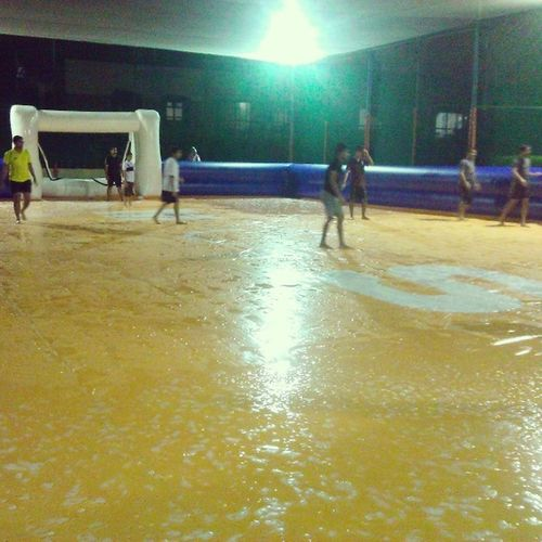 Soapy Football Madoversport Mos Slippery Ground Toomuchfun  Amzaing  Experience Friends Instagram Instapic Igers Picoftheday Madness Mumbai India