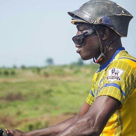 The Okada rider in Onitsha ! Nigeria Africa bike streetphotography vscocam snapitoga
