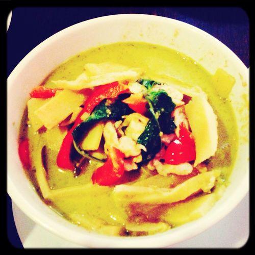 Thai food dinner :) Thai Food Green Curry Curry